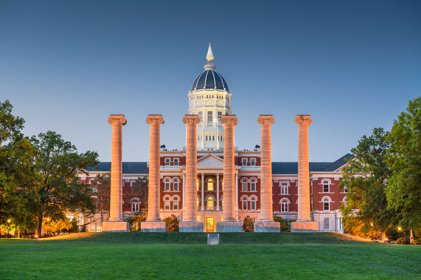 Columbia, Missouri, USA historic campus