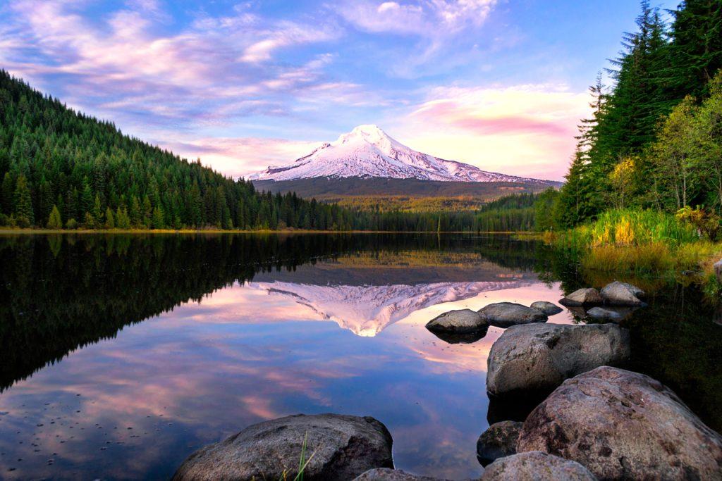 Scenic Oregon View