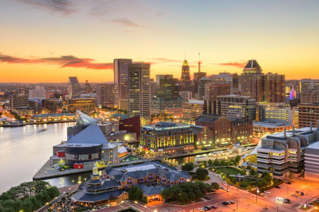 Maryland Cityscape