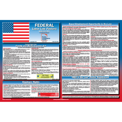 Federal Applicant Poster