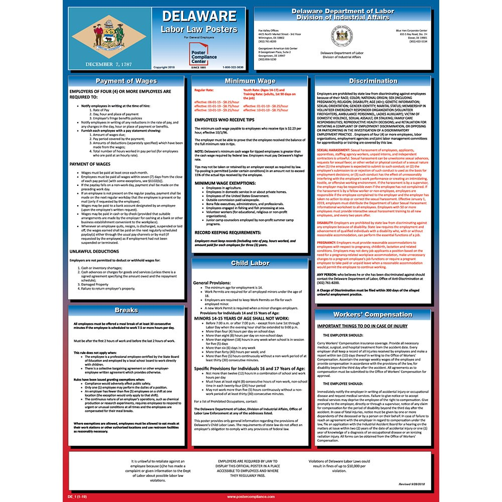 Delaware's-All-in-One-Labor-Law-Poster