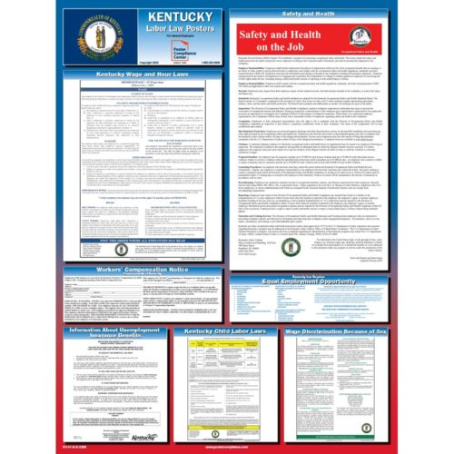 Kentucky Workplace Poster With Updated Publication Code KY-01-S-E-0220