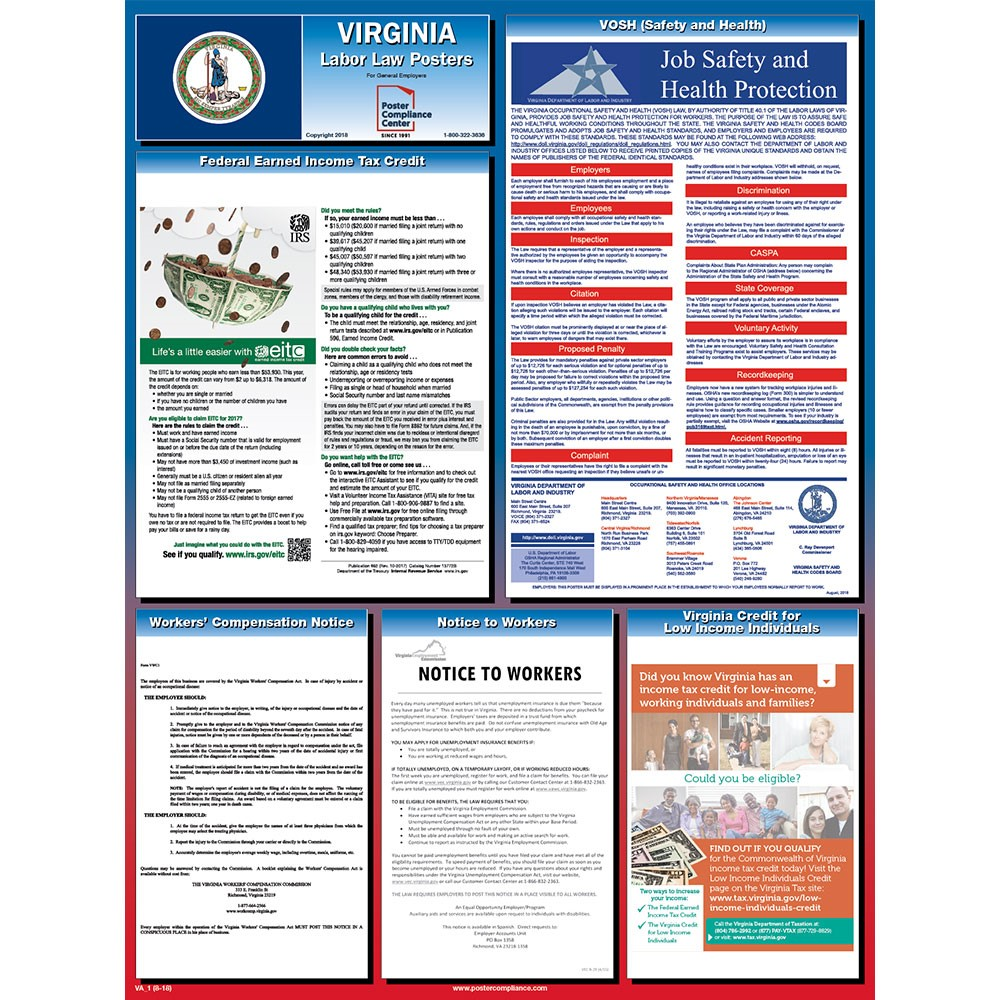 virginia labor law posters 2019 poster compliance center