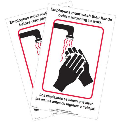 Wash Your Hands Notice