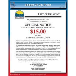 Belmont, CA 1-20