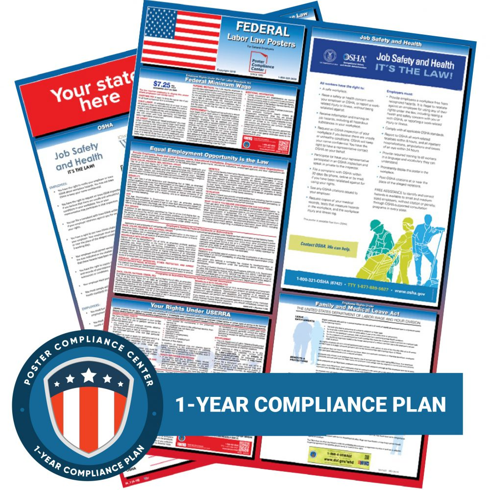 1-Year Compliance Plan