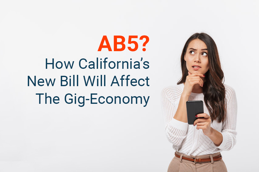 AB 5 Bill, California