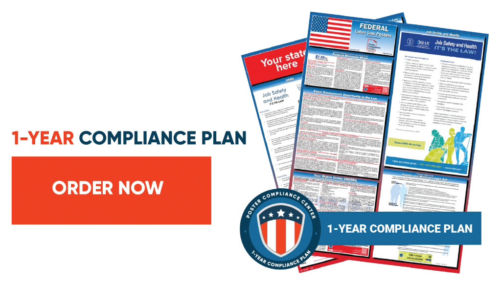 1-Year Compliance Plan
