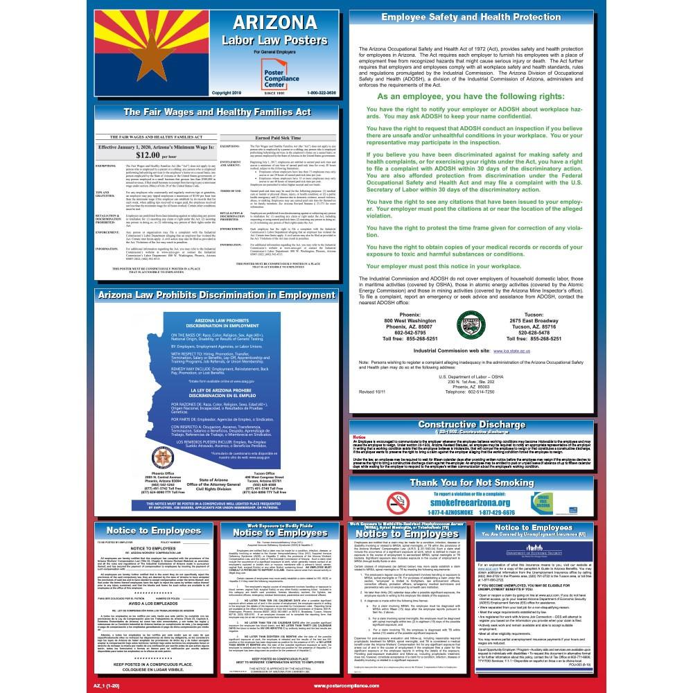 Arizona_Labor_Law_Poster