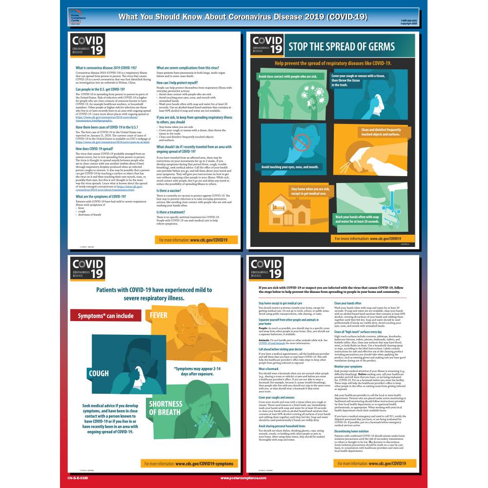 Coronavirus Safety Poster