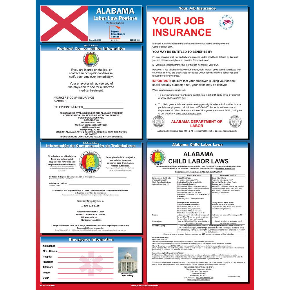 Alabama-labor-law-poster