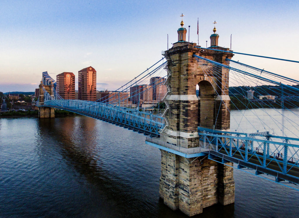 Cincinnati Ohio bridge