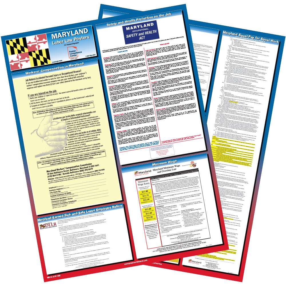 Maryland Labor Law Poster