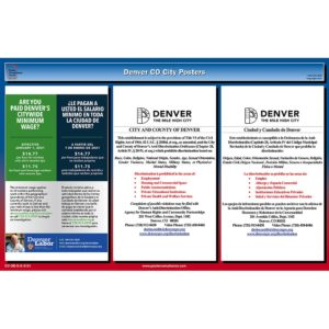 Denver CO Labor Law Poster