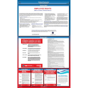 Federal Contractor Labor Law Poster