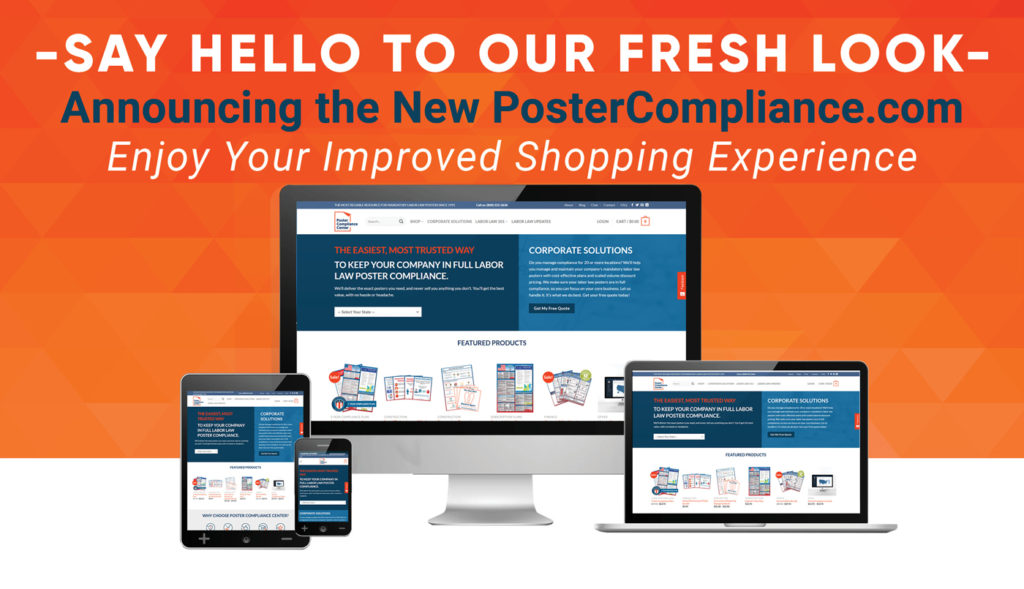Poster Compliance Centers New Look